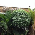 Entrance to the Oceanarium