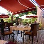Lunch terrace