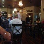 dining room at La Spezia