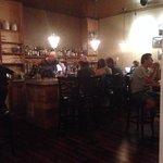 the bar at La Spezia.