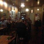 dining room at La Spezia.