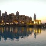 Dubai Mall fountain area