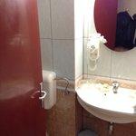 small, ugly, smelly bathroom