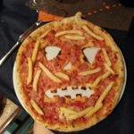 Pizza....zucca :-) per Halloween
