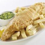 Haddock, Chips & Peas