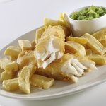 Cod, Chips & Peas
