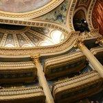 ornate balcony of the opera house