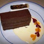 Private function - Moorish chocolate dessert