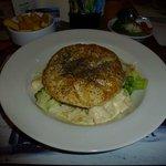 Chicken, Ham & Broccoli Pie