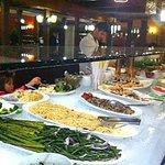 Extensive cold buffet