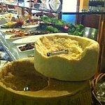 Whole huge Parmesan and Pecorino