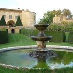 Vue du Château des jardins