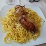 Alpaca com espagueti