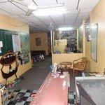 Reception, TV room