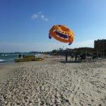 Атракцион на пляже