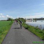 On Berounka river bank