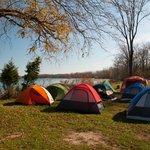 Autumn Tent Camping