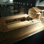 Макет древнего преториума в музее