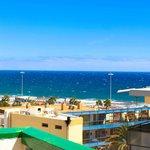 vue de la terrasse (si vue sur mer)