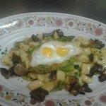 gnocci all tartufo e uova di quaglia