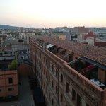 Вид в сторону центра Барселоны