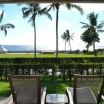 View from private Bougainvillea room deck/patio