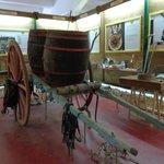 Cantina Albea museum barrel cart
