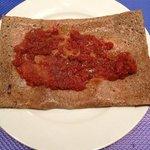 lard tomate concassée