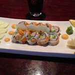 California roll, watched them make it fresh. So delicious, the best I've ever had.