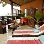 An Atlantic suite terrace