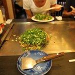 hiroshima okonomiyaki on your table...