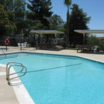 Enjoy our pool and spa during your stay.
