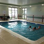 Great indoor pool as well, very warm