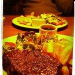 Mmm well done steak!!