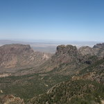 Chisos Basin Below