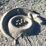 Sand Sculture