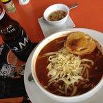 Sopa Azteca. Una delicia.