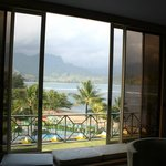 View of Hanalei Bay from Our room