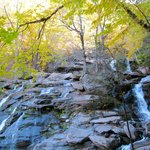 walk up to Kaaterskill falls