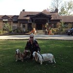 Dupont Lodge is extremely dog friendly as are all the KY State Resort/Lodge Parks