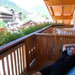 Relax sul balcone