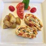 Mediterranean Rolled Omelette... yummm