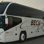 Mit Beck Luxusbus bequem und sicher nach Lourdes www.beck-bus.com