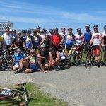 Maggi Radteam auf dem Col de Aubisque Pyrenäen