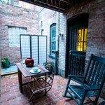 Garden-Level Apartment: Zen-like private patio
