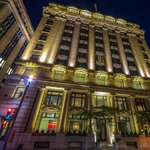 Hotel St Paul Montreal at night