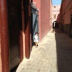 Outside the Riad
