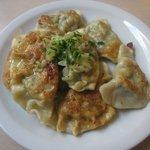 Famous spinach dumplings