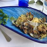 Not to be missed - their spaghetti alla vongole!