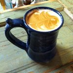 Enjoy a Latte in our Handmade Pottery Mugs
